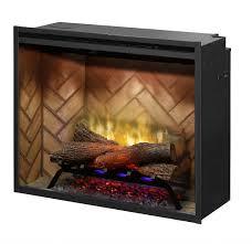 dimplex electric fireplace media