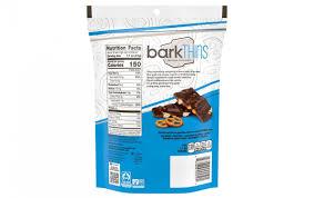 barkthins dark chocolate pretzel with