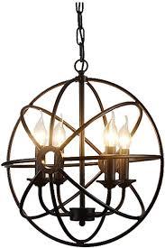 gl 63408 globe metal pendant light