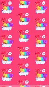 rainbow unicorn iphone wallpaper cute