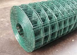 Electric Galvanised Wire Mesh Roll 50x75mm Pvc Coated Wire Mesh Rolls