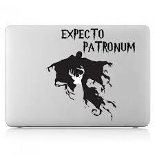 Harry Potter Expectro Patronum Laptop Macbook Vinyl Decal Sticker