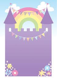 Purple Castle Free Printable Birthday Invitation Template Greetings Island Con Imagenes Invitaciones Imprimibles Invitaciones Digitales Invitaciones