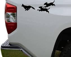 Fox Hunting Decal Etsy