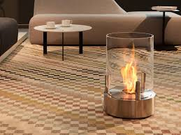 freestanding bioethanol fireplace cyl