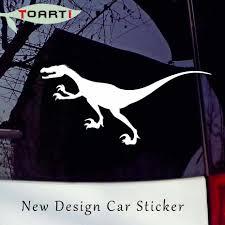 Velociraptor Car Styling Decals Dinosaur Car Sticker Door Window Waterproof Vinyl Truck Decor Accessories Creative Design Car Sticker Car Styling Sticker Door Aliexpress