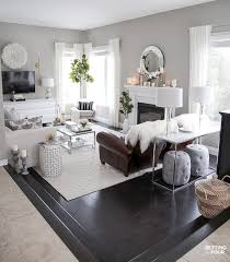 new tv stand wall art rug pillows