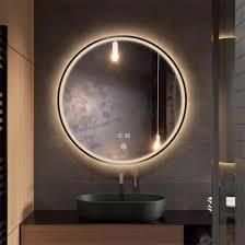 led light bathroom mirror
