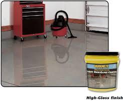 quikrete garage floor clear coat