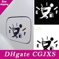 2020 10cm 14cm Funny Car Stickers High Gas Consumption Decal Fuel Gage Empty Stickers Vinyl Jdm Car Stickers Car Styling From Egbdhydnn 13 08 Dhgate Com