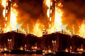 George Floyd Death: Protestors Set Minneapolis Police Station On Fire