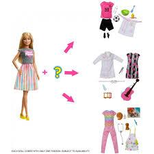 barbie careers surprise closet doll