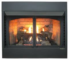 vent free gas fireplace propane
