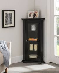 storage wood furniture curio glass