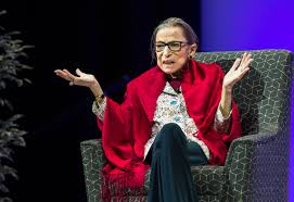 Justice Ruth Bader Ginsburg spoke candidly at a fireside chat in Mass. last  year - The Boston Globe