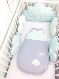 baby cot pers clouds cushions in