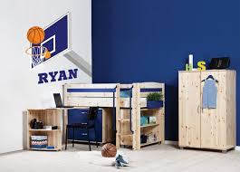 Basketball Wall Decals Boys Room Wall Art Dunking Ball Etsy