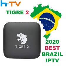 Tigre2 tv box HTV6 HTV BOX 5 iptv HTV5 BOX H.TV 6 Brazilian Portuguese  Internet Streaming box|streaming box|tv streaming boxiptv tv - AliExpress