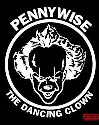 Pennywise The Dancing Clown It Horror King Vinyl Decal Sticker Window White Ebay