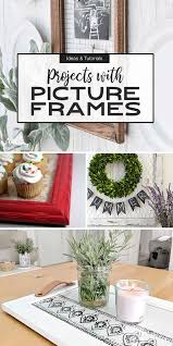 diy picture frame ideas crafts the