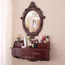 wall mounted dressing table mirror