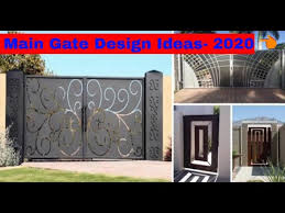 Latest Grill Gates Designs For Modern Homes Modern Gate Design Ideas 2020 Catalogue Youtube