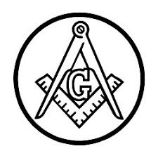 Circle Square Compass Masonic Vinyl Decal