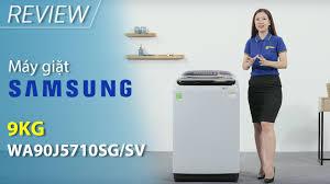Máy giặt Samsung 9 kg WA90J5710SG/SV giá rẻ, có trả góp 06/2020