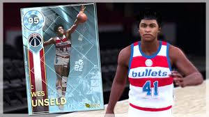 DIAMOND WES UNSELD GAMEPLAY ONLINE DEBUT - ALLTIME DOMINATION REWARD NBA  2K18 MYTEAM - YouTube