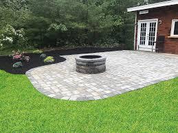 stone fire pits paver driveways