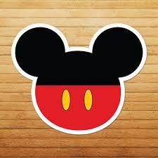 Mickey Mouse Head Logo Walt Disney Die Cut Wall Car Window Vinyl Decal Sticker Ebay