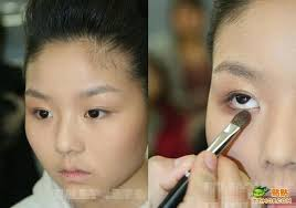 makeup before and after chinese