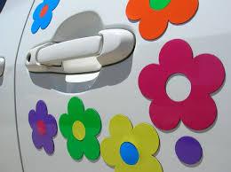 Flower Car Magnets Stickemsmagnets Flower Car Car Magnets Car
