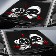 Wall E Car Auto Sun Shades 230916 Gift Family Friends Fan Idea