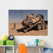 M1114 Armored Vehicle Is Wall Decal Wallmonkeys Com