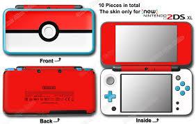 Pokemon Pokeball Classic Skin Vinyl Sticker Cover Decal For New Nintendo 2ds Xl Ebay