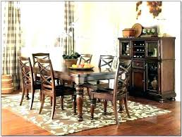 trendy area rugs dining room rugs size
