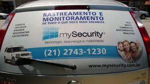 Adesivos Perfurado My Security   Arte Digital Comunicação ...