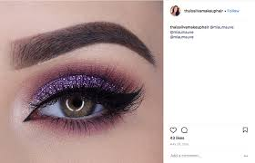 purple makeup saubhaya makeup
