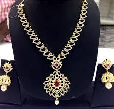 designer cz chain with big pendant