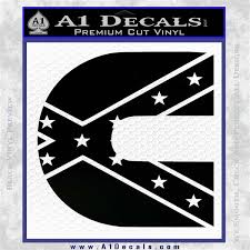 Cummins Rebel Flag Decal Sticker D2 A1 Decals