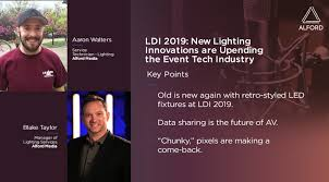 Backstage Pass: LDI 2019: New Lighting Innovations are Upending the Event  Tech Industry with Blake Taylor and Aaron Walters   MarketScale