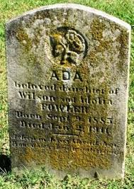 Ada Fowler (1885-1911) - Find A Grave Memorial