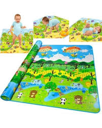 Amazing Deal On Baby Non Toxic Extra Thick Foam Large With Gate Fence Crawling Play Mat Hfon