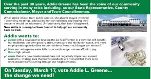 Addie L. Greene Candidate for Mangonia Park City Council, Seat 4 - Photos |  Facebook
