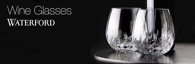 waterford crystal wine glass collection