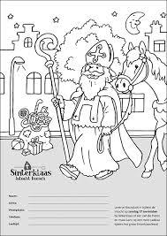 Kleurplaat En Stickeractie Sinterklaas Intocht Heesch