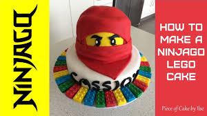 Ninjago Lego Fondant Cake How to make by Piece of Cake by Ilse ...