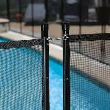Gli Pool Products 4 Ft X 12 Ft Safety Fence For In Ground Pools Ne180f The Home Depot