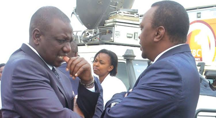 Image result for william kabogoand uhuru""